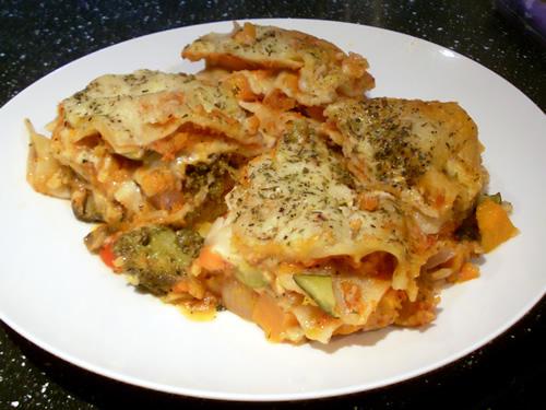 Vegetable Lasagne at Millies