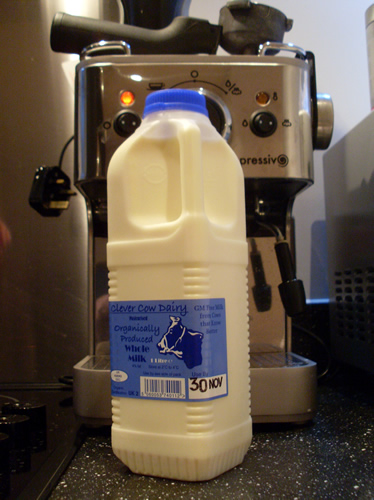 Clever Cow Organics Milk from Thornhill Hall Farm West Yorkshire