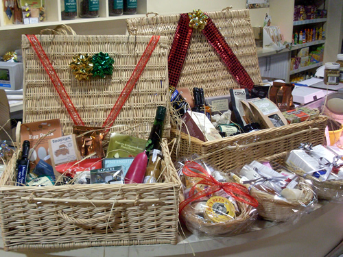 Christmas Hampers available at Millies