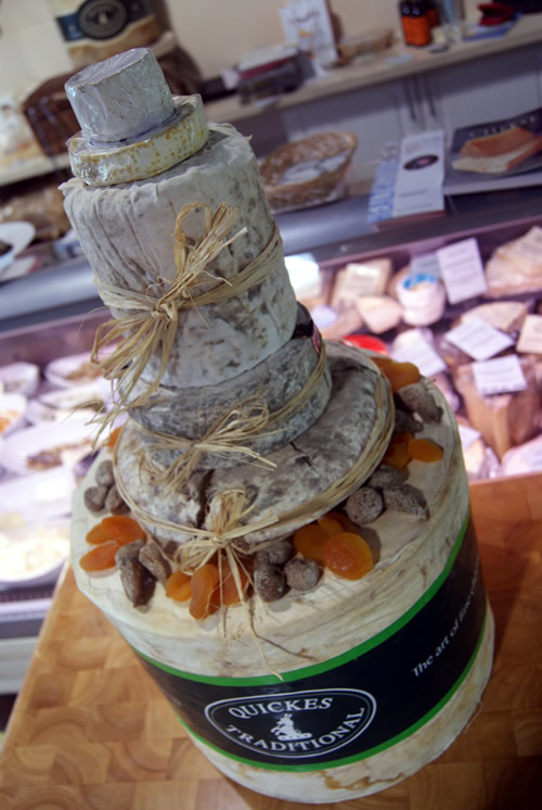 how to make a cheese tower cake