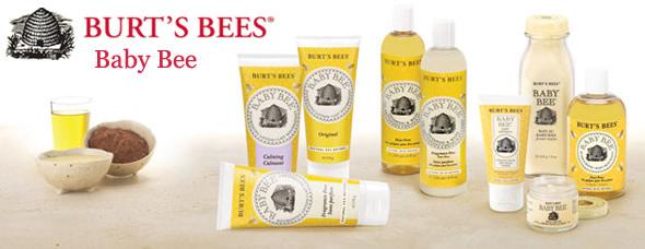 Burts Bees Baby Bee Range