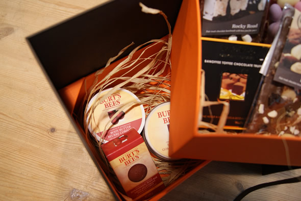 Chocolate & Burt's Bees Hamper Leeds