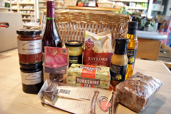 Yorkshire Christmas Hamper Contents