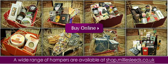 Yorkshire Hampers, Fine Food Hampers and more available at shop.milliesleeds.co.uk