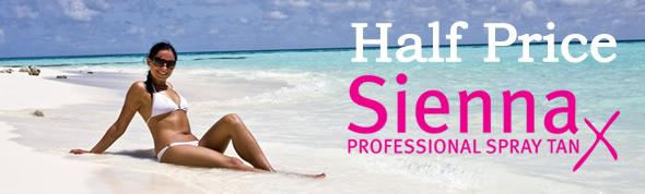 Half Price Sienna X Spray Tan