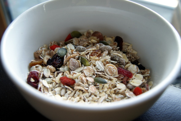 Bowl of Superfood Muesli