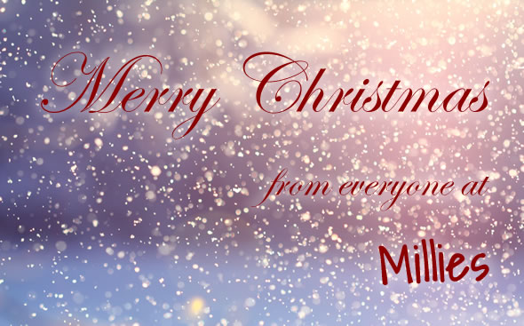 Merry Christmas from everyone at Millies