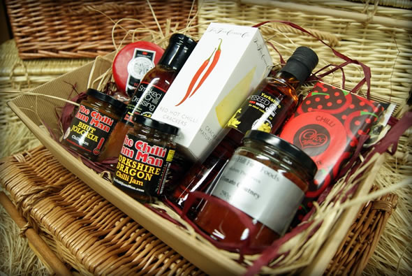 Packed full of chilli goodies that will warm you up this Christmas