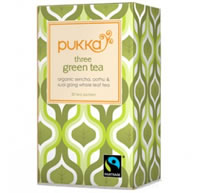 Pukka Three Green Tea