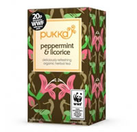 Pukka Peppermint Licorice