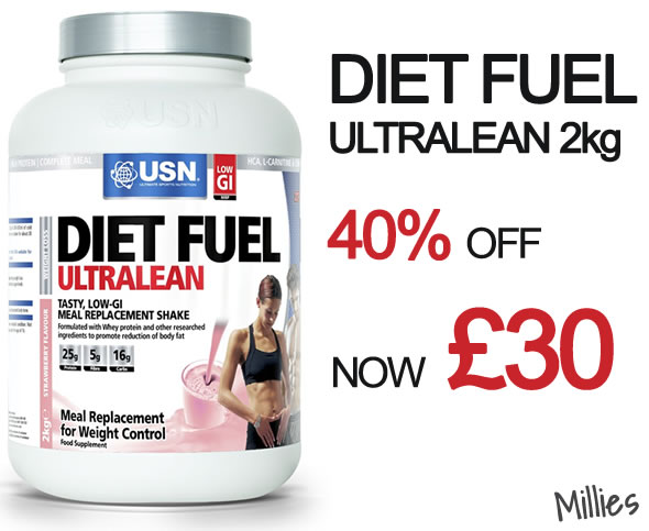 USN Diet Fuel Ultralean - Leeds