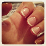 French Manicure Leeds