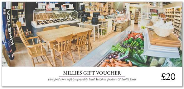 Millies Store Gift Voucher