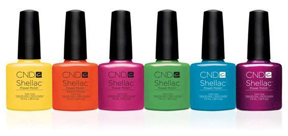 Shellac Paradise Collection Colours