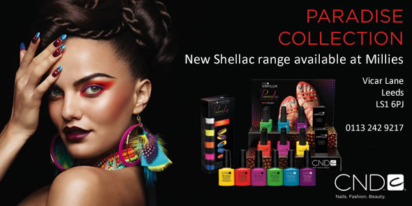 The Shellac Paradise Collection has been added to our existing range