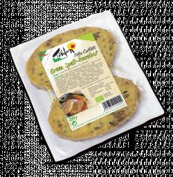 Tofu Cutlets Green Spelt-Hazelnut