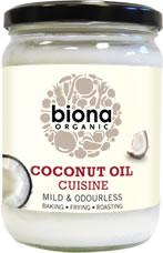 Biona Organic Coconut Oil - Odourless Cuisine