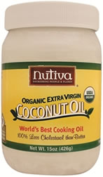 Nutiva Organic extra-virgin coconut oil