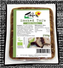 Smoked Tofu with Herbs