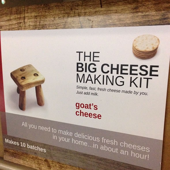 The Big Cheese Making Kit - Goats Cheese