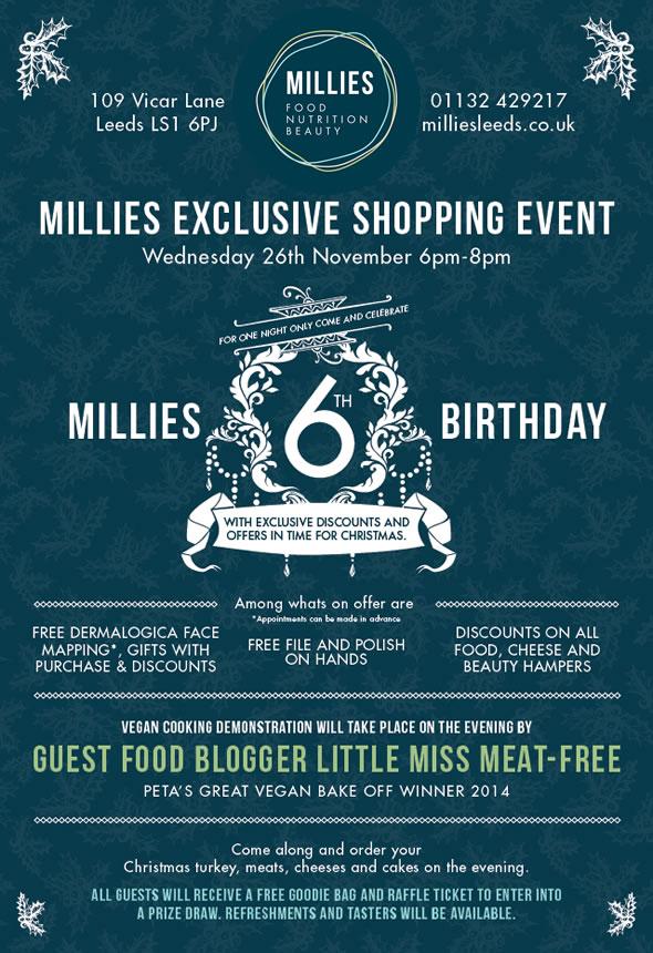 Millies 6th Birthday