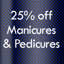 [Expired] April Beauty Offer: 25% Off All Manicures & Pedicures