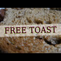 FREE TOAST With All Hot Drinks